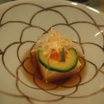 玉之湯 - ホワイトアスパラ豆腐