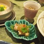 玉之湯 - 酒蒸し福味鶏の南蛮漬け
