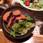 ダイニングキッチン Tommy - 紅芋コロッケ 480円