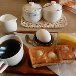 白ら木 - 料理写真:モーニングセット