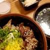 焼肉くろせ - 料理写真:牛カルビ丼