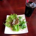 PIZZA DINING JOYs - セットのサラダとドリンク!(2014,07/20)