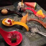 魚家 - デザート