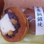 金子老舗 - 金亀銅鑼焼(どらやき)¥180(税別)