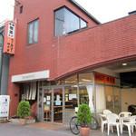 柳月堂 - レンガ造りの柳月堂。京阪「出町柳駅」すぐ