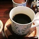柳月堂 - コーヒー650円(他に音楽チャージ500円必要)