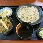 武州うどん江川 - 『ランチセット』(税込850円)