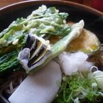レストラン 最高地点 - 新鮮な高原野菜がてんこ盛りです