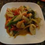 ウボンラッ - 海鮮ピリ辛炒め