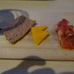 ヴァージン フラミンゴ - ちょい呑み:前菜盛り合わせ