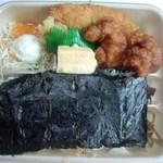 ほっかほっか亭 - のり弁デラックス520円→390円(2014.07.25)
