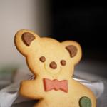 シャンドマルス ヤマギシ - 料理写真:くまちゃんクッキー