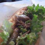 ゴッドバーガー - 和牛ロースの焼肉
