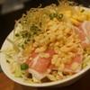 ゆう - 料理写真:ソース3味もんじゃ(豚、コーン、チーズ