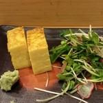 鮨幸 - たまご焼き