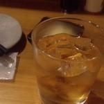 あだん - 梅酒ロック