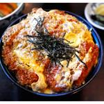 とんひろ - 料理写真:ランチカツ丼(2014.07)
