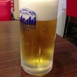 山形五十番飯店 - 生ビール