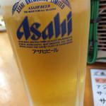 魚介 - 生ビール