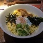 ラーメンBAR やきそばー HIT - 釜玉らーめん(201403)