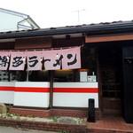 博多ラーメン 山桜 - 2014年7月21日(月・祝) 店舗外観