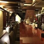 バール ズマッチーノ - ジャズの流れるカウンター一階。
