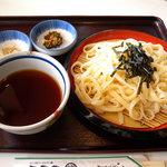 松崎屋 - 料理写真:カレーライスざるセット(900円)_2009-12-30