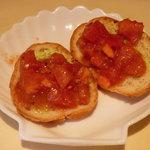 ビストロ・タッキー - トマトのカナッペ