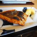 銀座 圓 - 鮭の塩麹焼きだったかな?