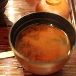 まるは食堂 - 味噌汁