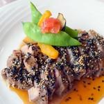 シェヴー - 豚肉のソテー 蜂蜜ソ-ス