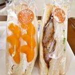 S cafe - 料理写真:サンドイッチ