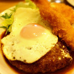 洋食やさん 銀亭 - ハンバーグ・エビフライ・カニクリームコロッケ