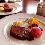 レストラン121ダイニング - レディースランチのデザート♪オシャレな盛り付けで嬉しい!