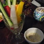 ORIENTAL BISTRO OPIUM - タオチオの野菜スティック400円