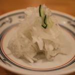 とんかつ武蔵 - 2014/7 お新香