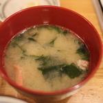 とんかつ武蔵 - 2014/7 味噌汁