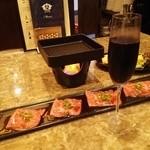 Dining Bar GAAM - ざぶとんのすき焼き