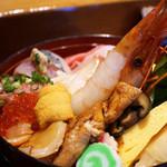 亀喜寿司 - 塩釜醍醐味丼