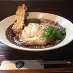 釜あげ饂飩 楽 - ちく天ぶっかけ冷(740円)
