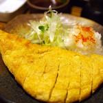吉祥寺 みかづき酒房 - 三角定規油揚げ焼き