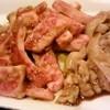 食道園 - 料理写真:カルビ,テッチャン,ホルモン,ミノ
