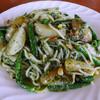 バフェット - 料理写真:日替わりパスタランチで、「トスカーナ風バジルソース松の実インゲン塩味」のパスタを選択