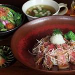 門前洋食 藤屋 - ステーキ丼