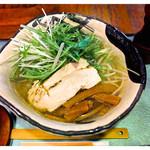 もり竹 - 料理写真:ゆず塩ラーメン