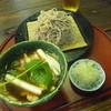 自然庵 - 料理写真:鴨汁が美味しい、「鴨せいろ (1070円)」