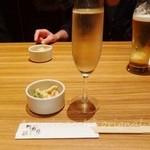 竹庭ともり - スパークリングワイン