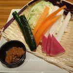 竹庭ともり - 野菜スティック