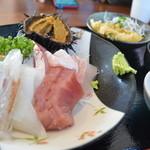 地魚・定食 祥天丸漁業 - 地魚だけの刺身定食