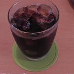 ひさごCAFE - スコーンセット(アイスコーヒー)